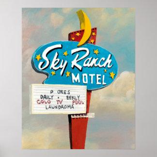 Sky Ranch Motel Sign