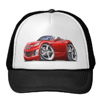 Sky Red Car Trucker Hat