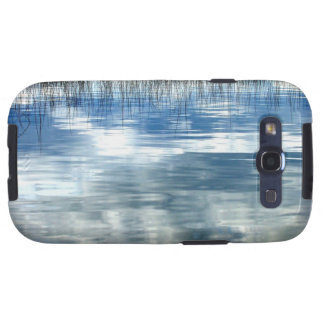 Sky Reflection On Lake With Reeds Android Case Galaxy S3 Cover