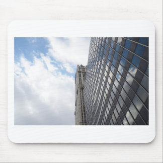 Sky Reflections of New York Mouse Mat