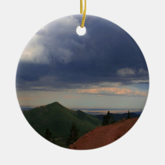Sky Road To Nowhere Christmas Ornament