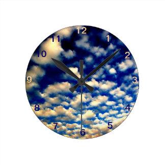 Sky Round Clock