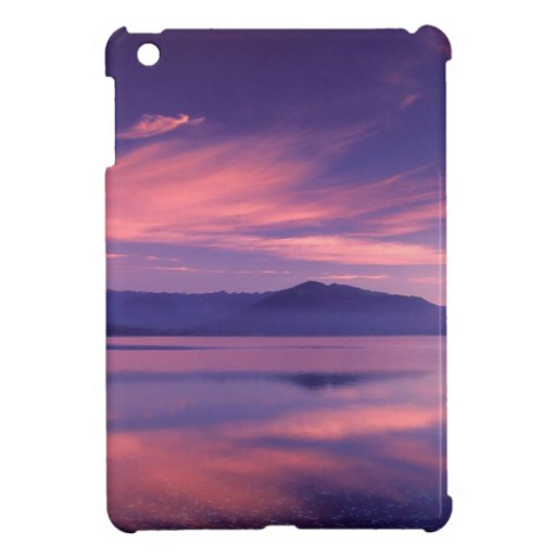 Sky Royal Reflection On Hood Canal iPad Mini Cases