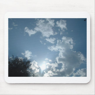 Sky scape mouse pad