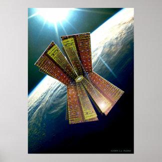 'Sky Sculpture 11' Poster