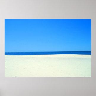 Sky, Sea and Sand Poster