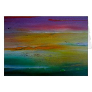 SKY & SEA GREETING CARD