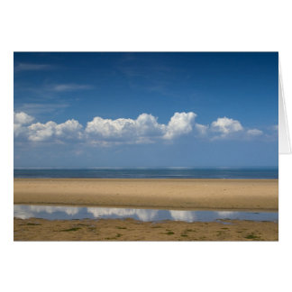 Sky Sea Sand. Card by cARTerART
