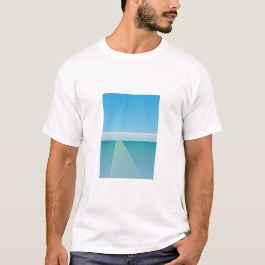 Sky sea water sun T-Shirt