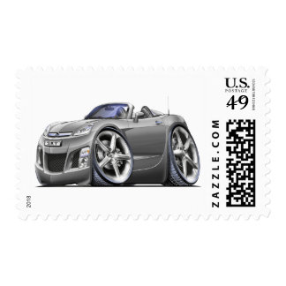 Sky Silver Car Stamps