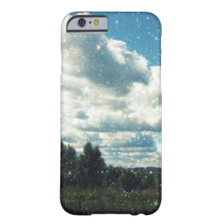 Sky Sparkles Barely There iPhone 6 Case