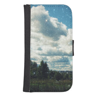 Sky Sparkles Galaxy S4 Wallet Cases