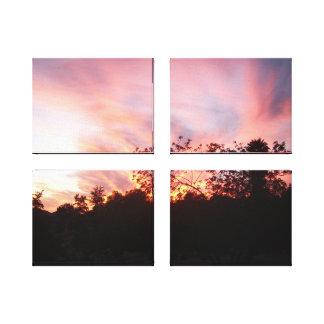 Sky Spirit Sunset Canvas Print