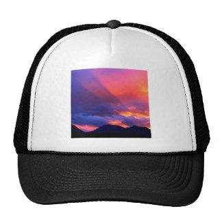 Sky Spiritual Awakening Bitterroot Montana Trucker Hat