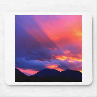 Sky Spiritual Awakening Bitterroot Montana Mouse Pad