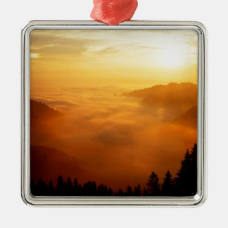 Sky St Gallen Switzerland Metal Ornament