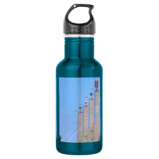 Sky Stations Pylon Caps Downtown Kansas City Stainless Steel Water Bottle