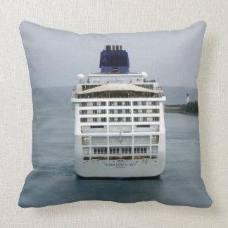 Sky Stern Throw Pillow