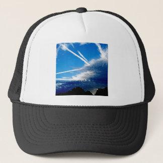 Sky Storm Clouds Approach Trucker Hat