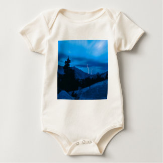 Sky Stormy Weather Yosemite Baby Bodysuit