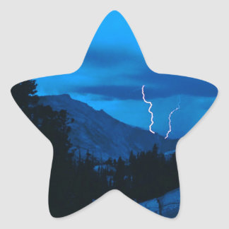 Sky Stormy Weather Yosemite Stickers
