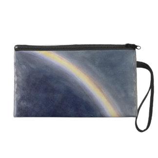 Sky Study with Rainbow, 1827 (w/c on paper) Wristlet Purse