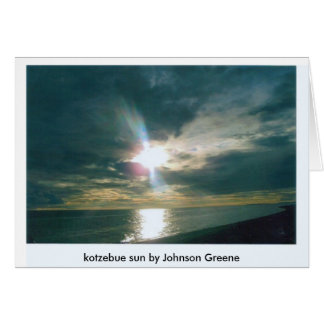SKY SUN (2), kotzebue sun by Johnson Greene Card