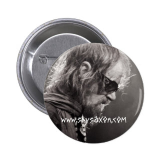 Sky Sunlight Saxon in Toulouse Pinback Button