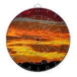 sky sunrise dartboard