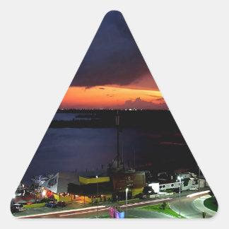 Sky Take To The Triangle Sticker
