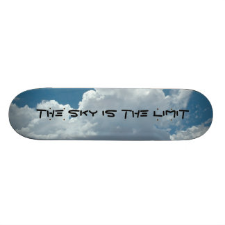 sky, The Sky is the Limit Skateboard