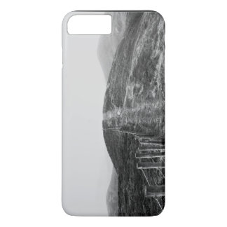 Sky Themed, A Black And White Picture Of A Hill Se iPhone 8 Plus/7 Plus Case