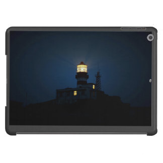 Sky Themed, An Illuminated Light Tower Located Beh Case For iPad Air