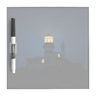 Sky Themed, An Illuminated Light Tower Located Beh Dry Erase Board