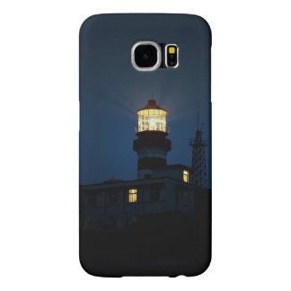 Sky Themed, An Illuminated Light Tower Located Beh Samsung Galaxy S6 Case