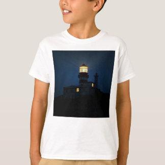 Sky Themed, An Illuminated Light Tower Located Beh T-Shirt