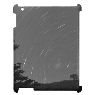 Sky Themed, Stars Create Circular Motion Trails In Cover For The iPad