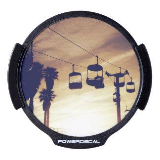 Sky tram LED window decal
