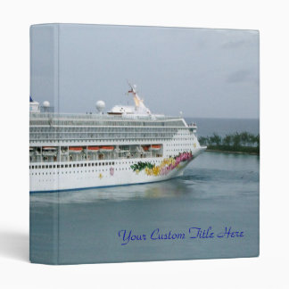 Sky Turning in Nassau 3 Ring Binder