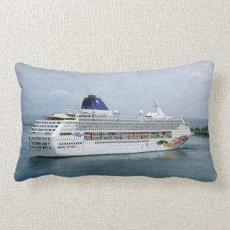 Sky Turning in Nassau Lumbar Pillow