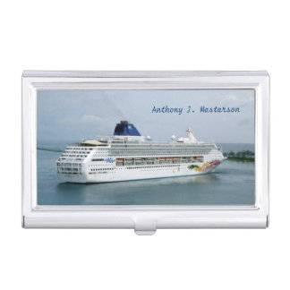 Sky Turning in Nassau Personalized Case For Business Cards