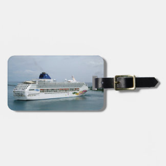 Sky Turning in Nassau Personalized Luggage Tag