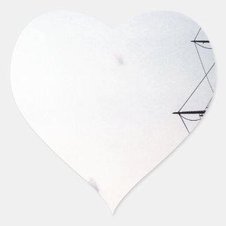 Sky Uss Constitution Mast Heart Sticker