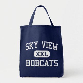 Sky View - Bobcats - High School - Smithfield Utah Canvas Bag