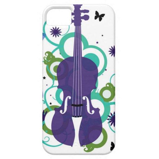 Sky Violin Design iPhone 5 Case