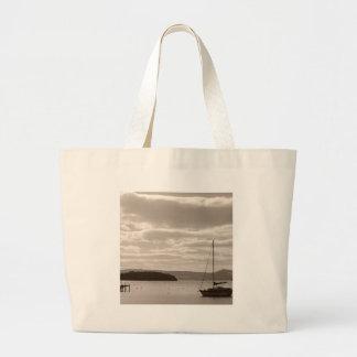 Sky Water Glistens Canvas Bag