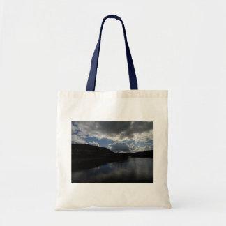 sky- water symmetry bag