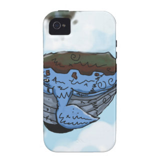 sky whale Case-Mate iPhone 4 case