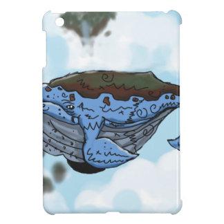 sky whale cover for the iPad mini