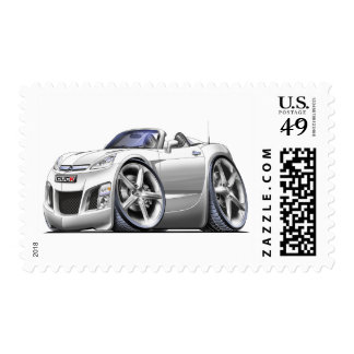 Sky White Car Stamps